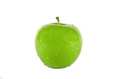 зеленый цвет яблока свежий Стоковые Фотографии RF