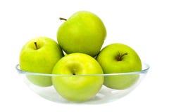 зеленый цвет яблок Стоковые Фотографии RF