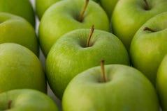 зеленый цвет яблок стоковая фотография
