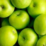 зеленый цвет яблок Стоковые Изображения RF