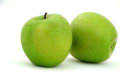 зеленый цвет яблок Стоковое Изображение