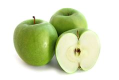 зеленый цвет яблок Стоковые Изображения