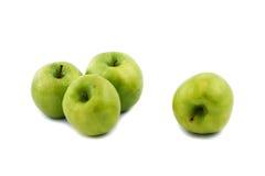 зеленый цвет яблок Стоковое Изображение RF