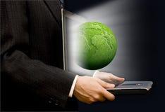 зеленый цвет дела Стоковая Фотография