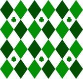 зеленый цвет argyle Стоковое Изображение