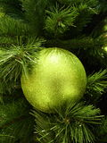 зеленый цвет bauble Стоковое Изображение