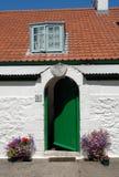 зеленый цвет caldey Стоковые Изображения