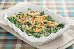 зеленый цвет casserole фасоли традиционный Стоковое Фото
