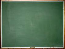 зеленый цвет chalkboard чистый Стоковые Фото