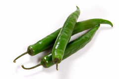 Зеленый цвет Chili Стоковые Изображения RF