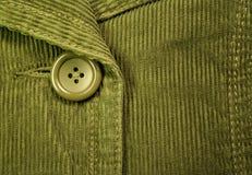 зеленый цвет corduroy 2 Стоковые Фотографии RF