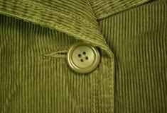 зеленый цвет corduroy 5 Стоковое фото RF