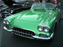 зеленый цвет corvette Стоковое фото RF