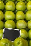 зеленый цвет edzr доски яблока Стоковые Фотографии RF