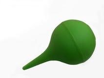 зеленый цвет enema Стоковая Фотография