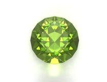 зеленый цвет gemstone Стоковое Изображение