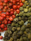 Зеленый цвет Peper красный Стоковые Изображения