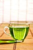 зеленый чай стоковое изображение rf