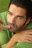 зеленый человек Стоковое Фото