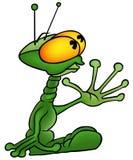 Зеленый чужеземец Стоковая Фотография RF