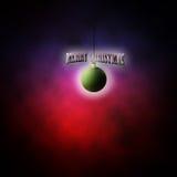 Зеленый шарик рождества Стоковое Изображение