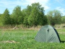 зеленый шатер стоковое изображение rf