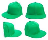 Зеленый шлем на различных углах Стоковое Изображение RF
