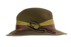 Зеленый шлем сбора винограда Стоковое Изображение