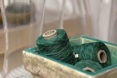 зеленый шпагат стоковые фото