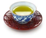 зеленый японский чай Стоковое Фото