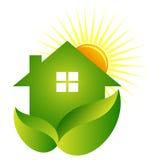 зеленый дом Стоковая Фотография RF