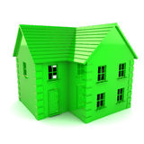 Зеленый дом Стоковое Изображение