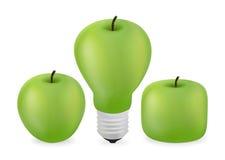 Зеленый Apple Бесплатная Иллюстрация