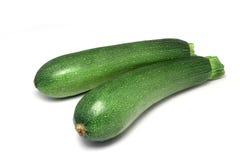 Зеленый courgette Стоковое Изображение