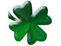 зеленый shamrock Стоковое Изображение