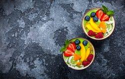 зеленый smoothie Стоковое Фото