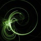 зеленый twirl Стоковая Фотография