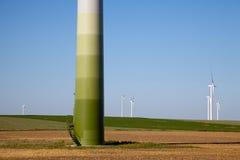 зеленый windpower технологии Стоковая Фотография RF