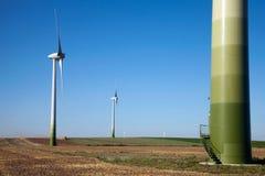 зеленый windpower технологии Стоковое фото RF