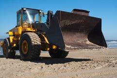 землекоп пляжа Стоковая Фотография