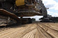 землекоп угля Стоковые Изображения RF