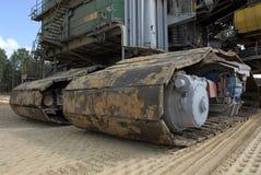 землекоп угля Стоковое Изображение RF