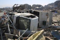 землетрясение восточная большая япония Стоковые Изображения RF