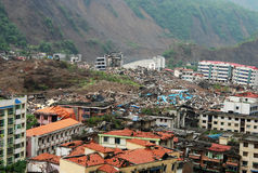 землетрясение Стоковое Фото