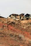 землетрясение christchurch cbd Стоковая Фотография