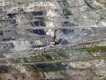 Землечерпалка в угольной шахте Стоковая Фотография