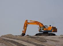 землечерпалка пляжа Стоковые Фотографии RF
