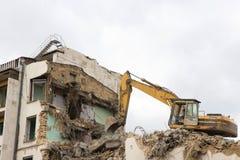 землечерпалка разрушения Стоковые Фото