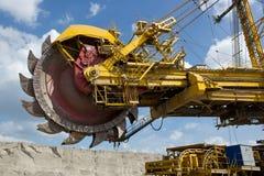 Землечерпалка угольной шахты Стоковое Изображение
