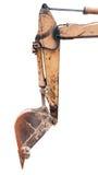 Землечерпалка Backhoe Стоковое Фото